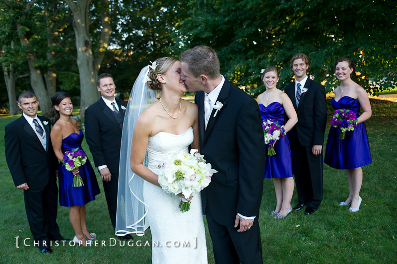 Nahant Country Club Wedding Photo