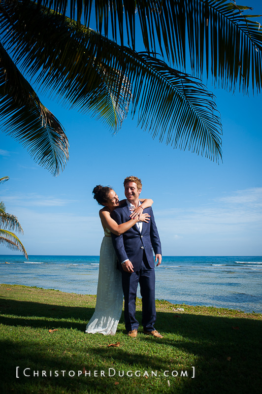 Sami & Josh Jamaica destination wedding