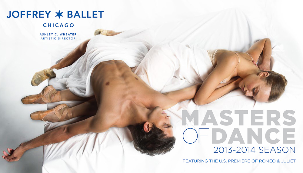 Season Brochure Photography | The Joffrey Ballet in Chicago