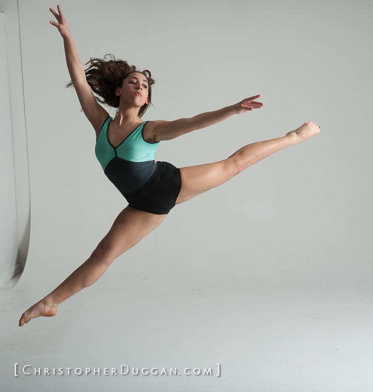 Dance Photo Studio Shoot In New York City
