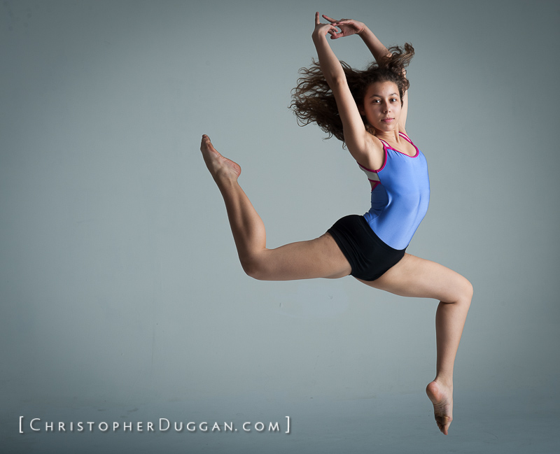 DeDe Demaria, Dance photo shoot in NYC