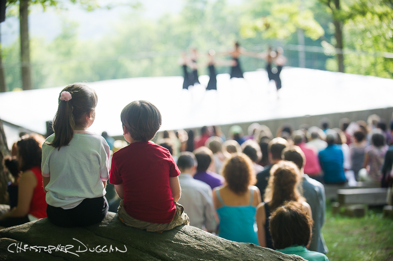 Tina Croll at Jacob's Pillow Dance
