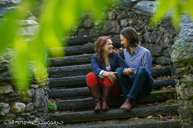 Alex & Justin | Engagement Photos in the Berkshires