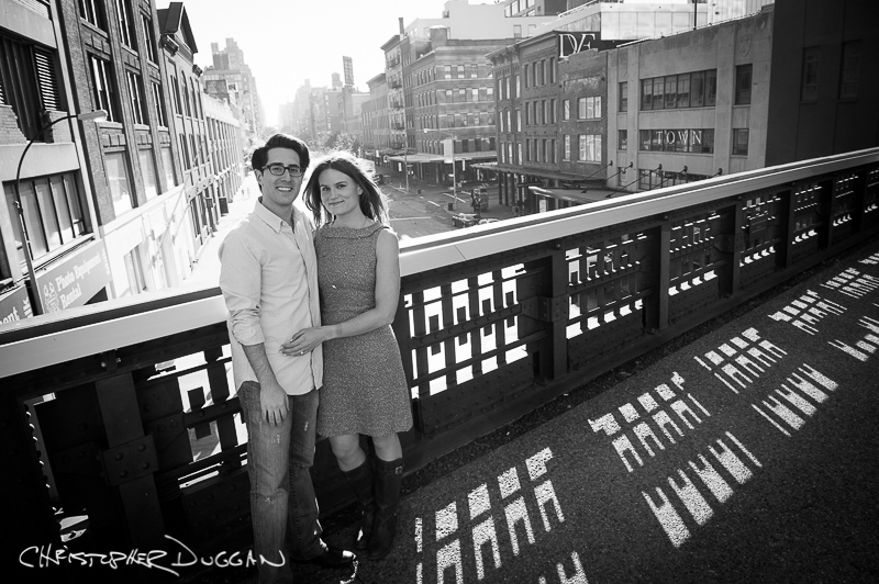 Christine & Teddy | Engagement Photos at The High Line