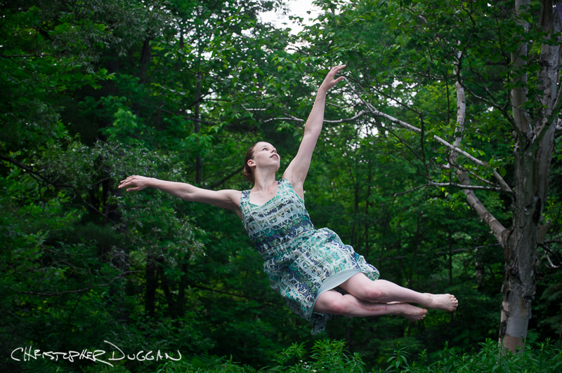 Lissa Smith of Hubbard Street Dance Chicago at Jacob's Pillow Dance Festival