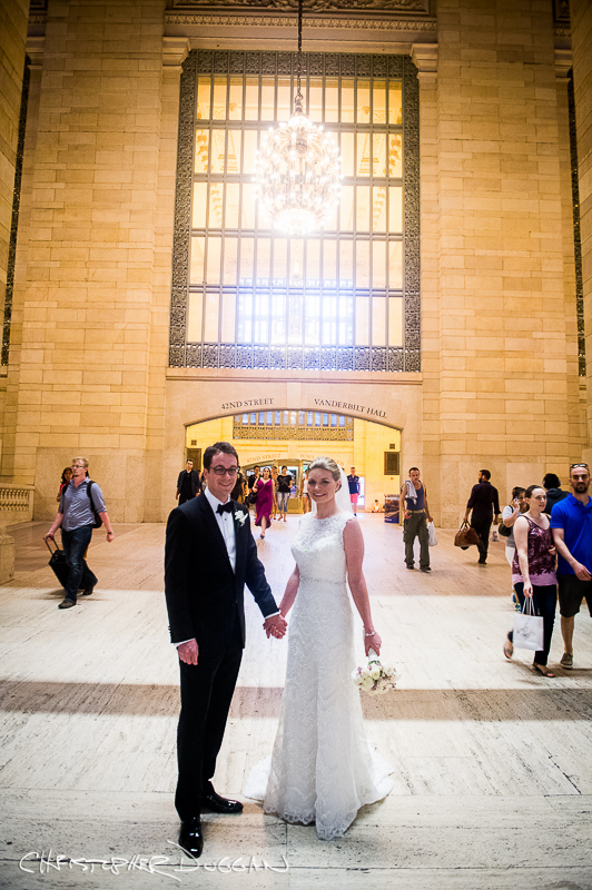 Emily & Dustin's Yale Club Wedding in NYC