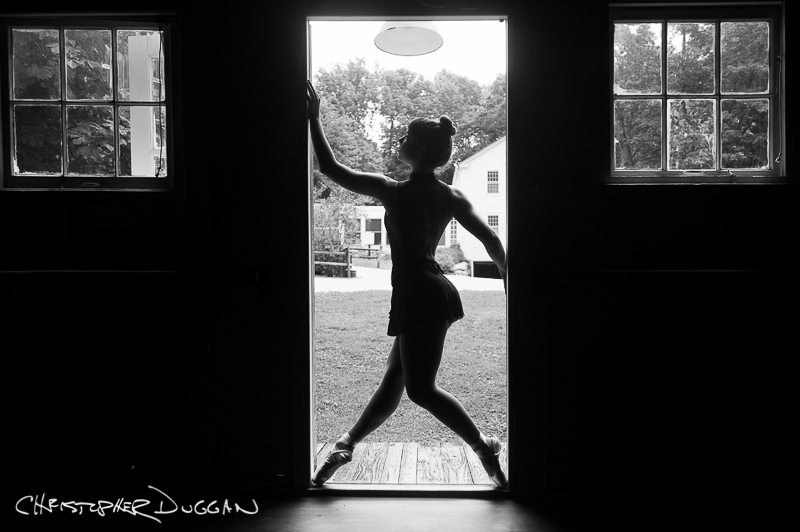 Kelsey MacEachern dance portraits at Jacob's Pillow by Christopher Duggan 2014