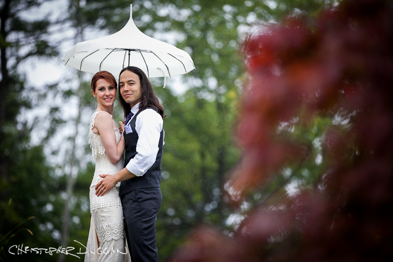 Beth & Eric's Shakespeare on the Hudson wedding photos