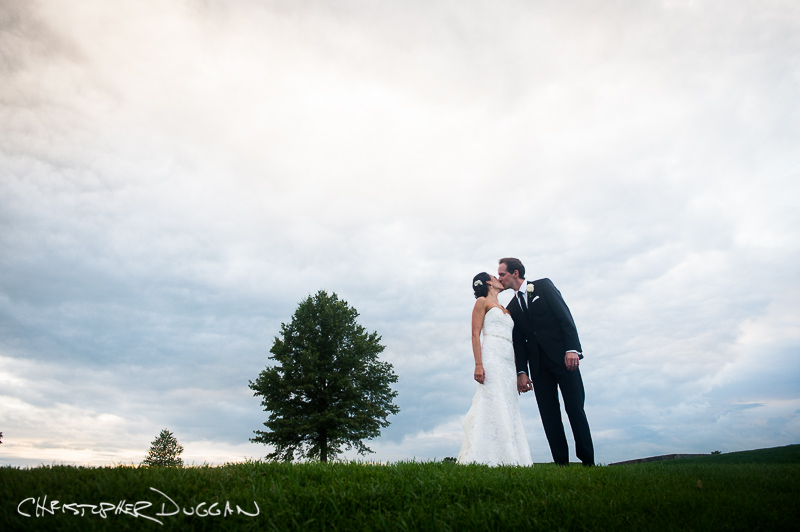 Brittany & Jonathan's Trump National Golf Club wedding photos in Bedminster, NJ by Christopher Duggan Photography