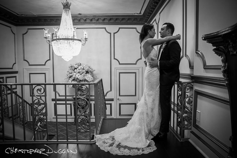 Jessica & Adam's Crystal Plaza Wedding Photos. Photo Credit: Christopher Duggan