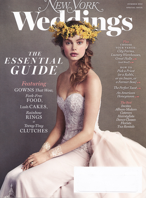 Christopher Duggan Photography published by New York Weddings magazine