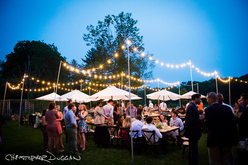 Katie & James Berkshires rehearsal dinner photos by Christopher Duggan Photography