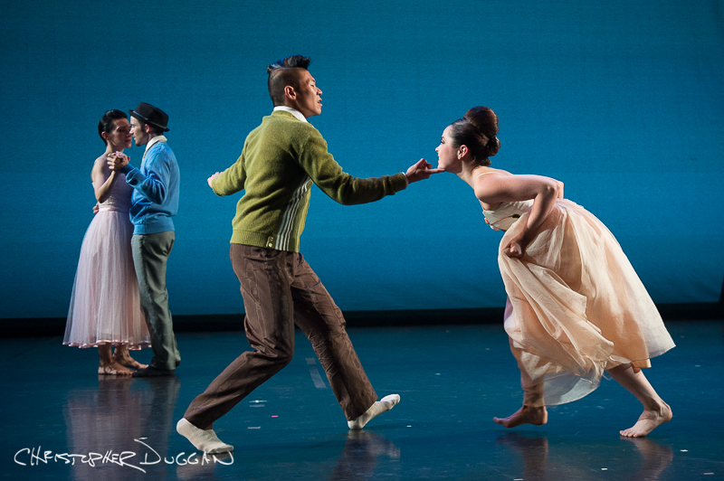 "Matthew Rich and Michele Carter of BODYTRAFFIC in ""A Trick of the Light""; photo Christopher Duggan"
