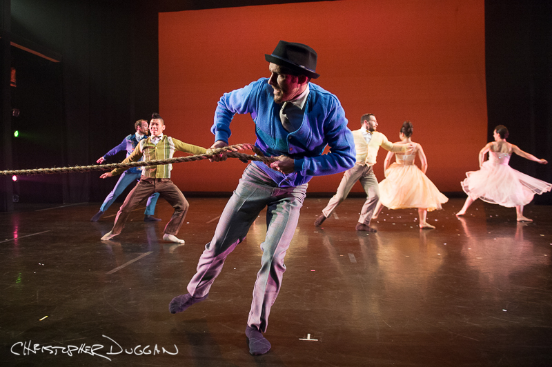 "Guzmán Rosado of BODYTRAFFIC in ""A Trick of the Light""; photo Christopher Duggan"