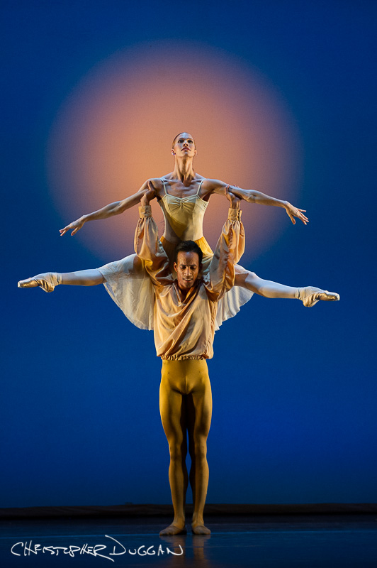 "Danielle Brown and Ricardo Rhodes of The Sarasota Ballet in ""The American"""
