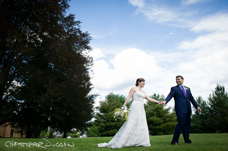 Cassie & Dan's Cranwell Resort wedding photos in Lenox, MA by Christopher Duggan Photography