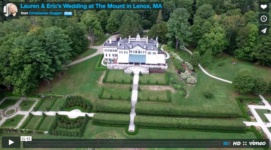 Lauren & Eric | The Mount Wedding Film in the Berkshires