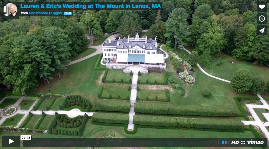 Lauren & Eric   The Mount Wedding Film in the Berkshires