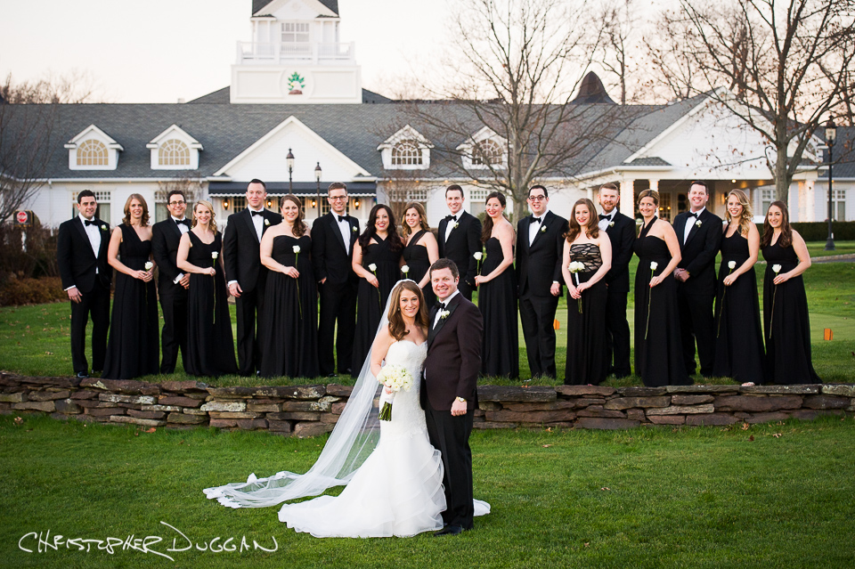 Abby & Evan's wedding at Eagle Oaks Country Club by Christopher Duggan Photography