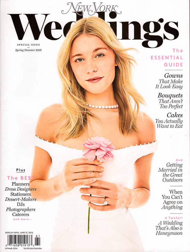 Wedding Photos in New York Weddings Magazine | Spring 2016