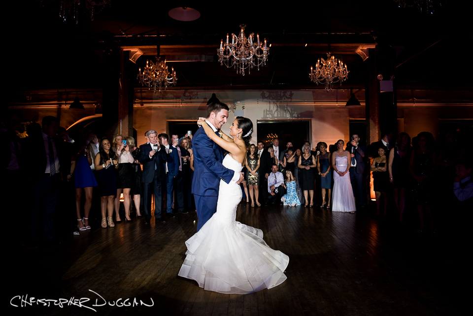 Brooklyn New York Liberty Warehouse wedding photographer Christopher Duggan - Danielle & Marko 2016