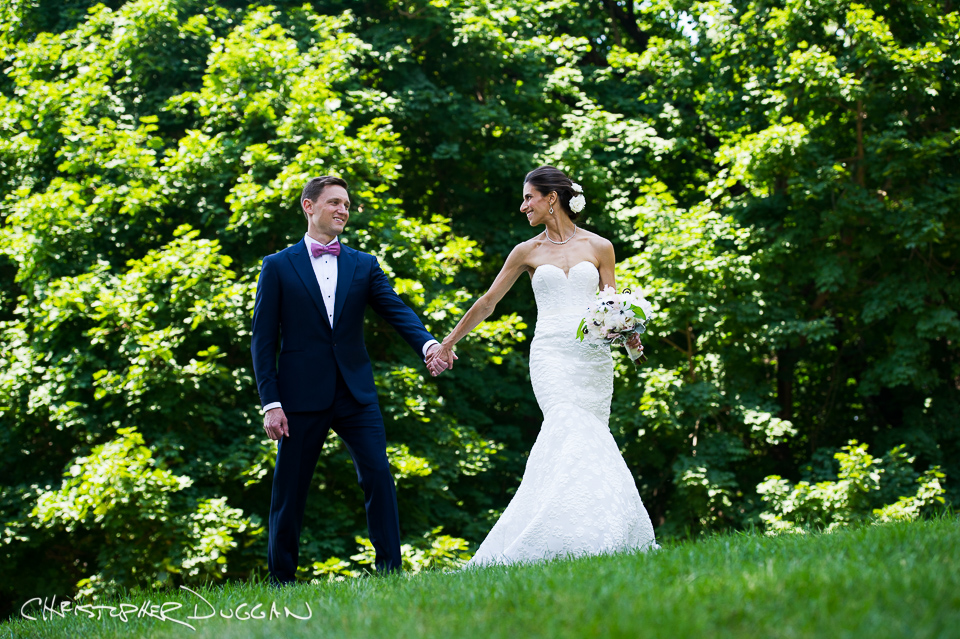 Rebecca & Josh's Abigail Kirsch at Tappan Hill Mansion Wedding Photos. Photo Credit: Christopher Duggan