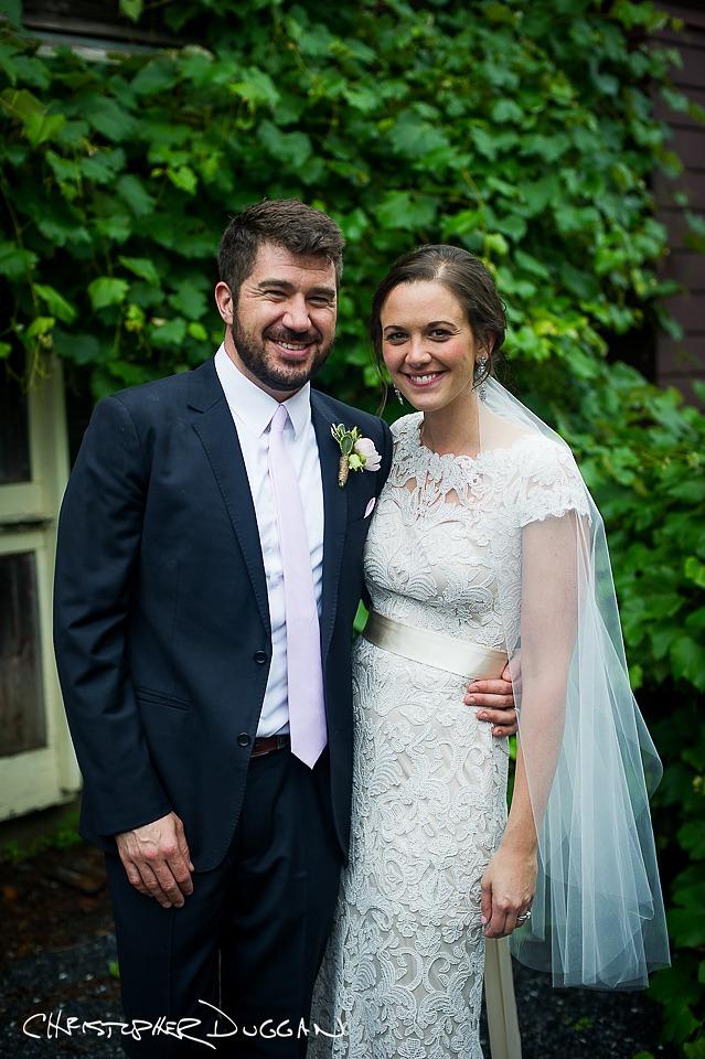 Mary & Todd's Berkshire Wedding Photos at Gedney Farm. Photo Credit: Christopher Duggan