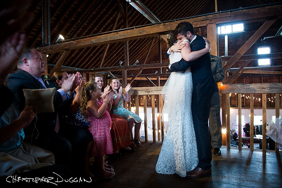 Mary & Todd's Berkshire Wedding Photos at Gedney Farm. Photo Credit: Christopher Duggan