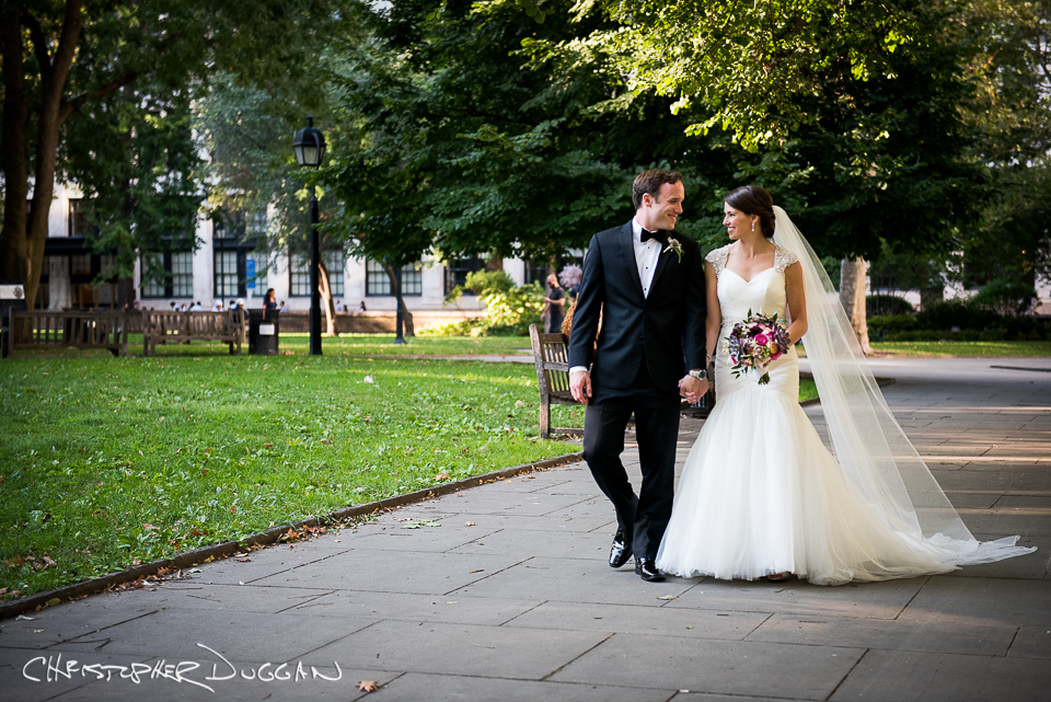 Melissa & Marc's Wedding Photos at The Kimmel Center in Philadelphia. Photo Credit: Whitney Browne on Christopher Duggan's Creative Team