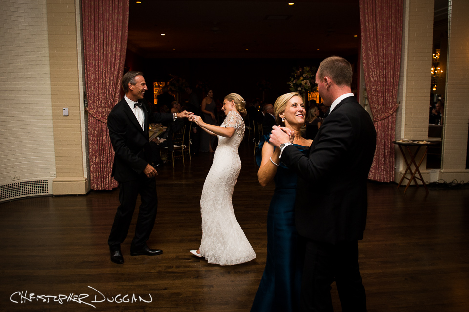 Emily & Chris' Wedding Photos at Allegheny Country Club in Pittsburgh, PA. Photo Credit: Christopher Duggan