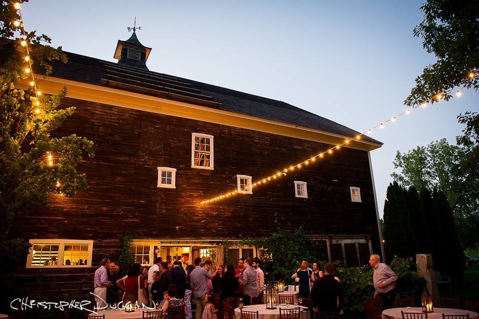 Berkshires Gedney Farm wedding photos by Christopher Duggan - Hannah & Jason