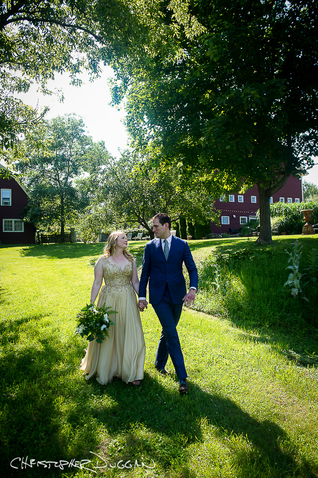 Berkshires Gedney Farm wedding photographer Christopher Duggan - Hannah & Jason
