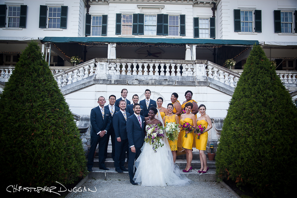 Janine & Victor Berkshires Wedding Photography at The Mount by Christopher Duggan Photography