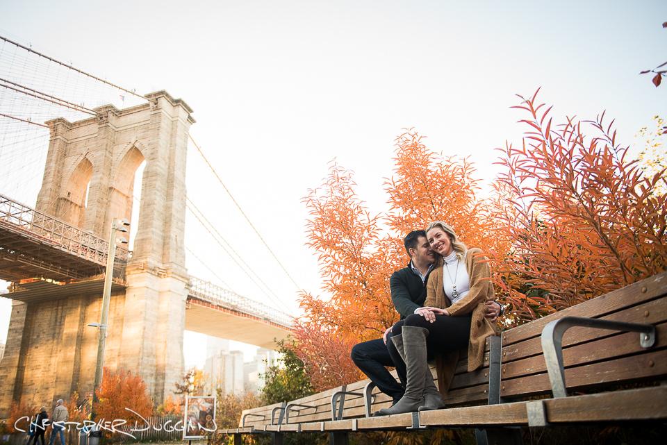 Brooklyn Bridge Park Engagement Photos | Tamara & Marko