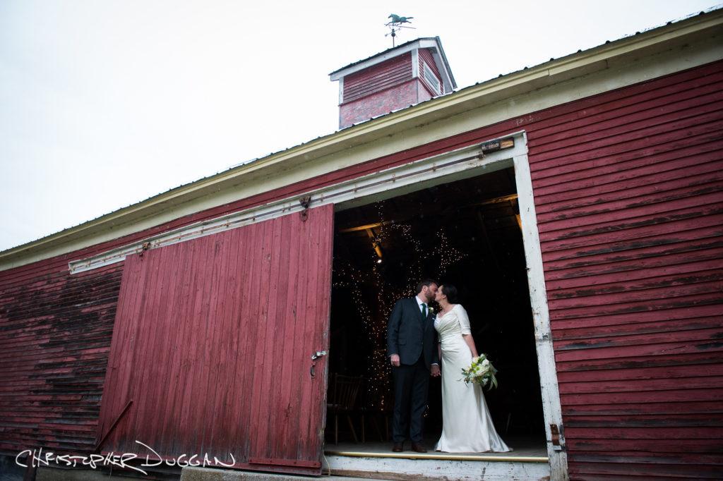 Kate & Evan's Wedding Photos at Red Clover Inn & Restaurant in Vermont. Photo Credit: Christopher Duggan