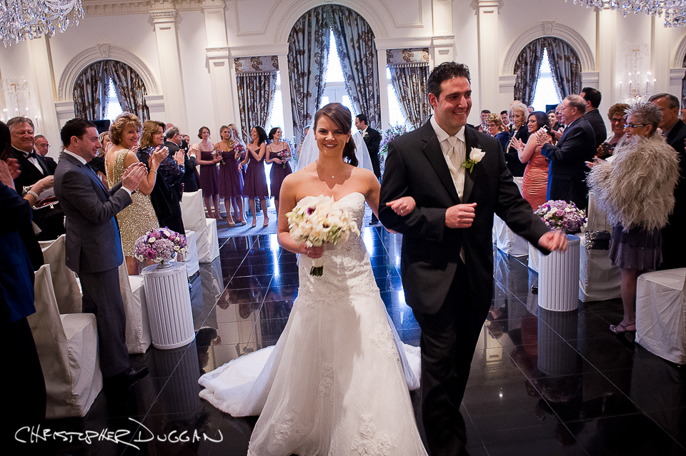 New Jersey Rockleigh Country Club Wedding Photos by Christopher Duggan