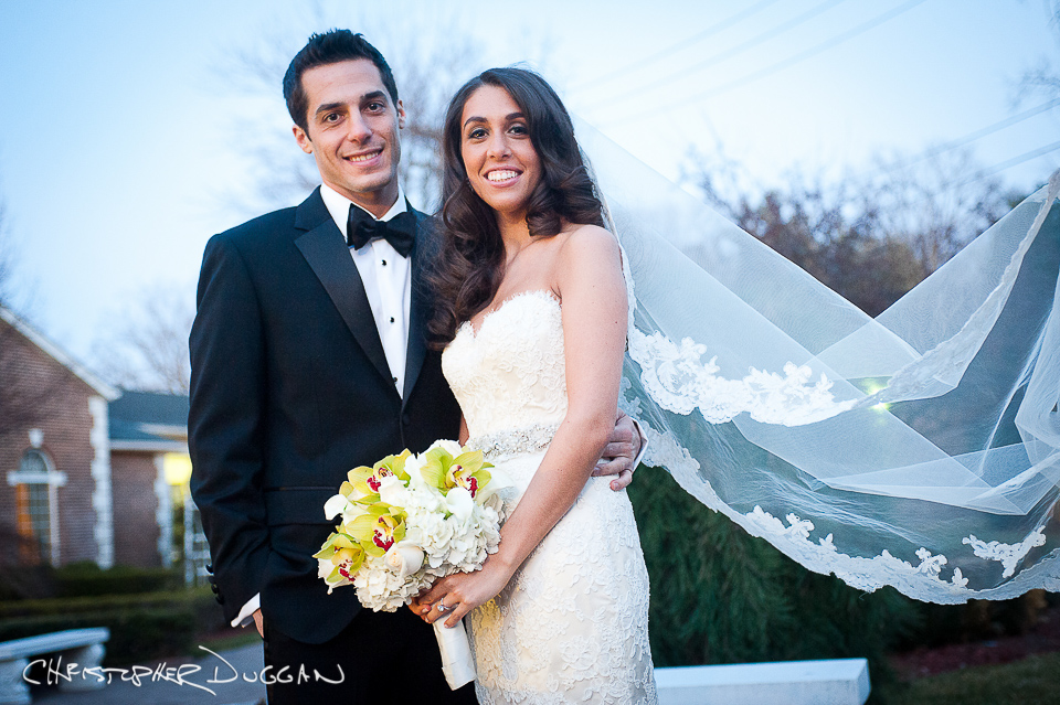 Yael and Adam's New Jersey Rockleigh Country Club Wedding Photos by Christopher Duggan