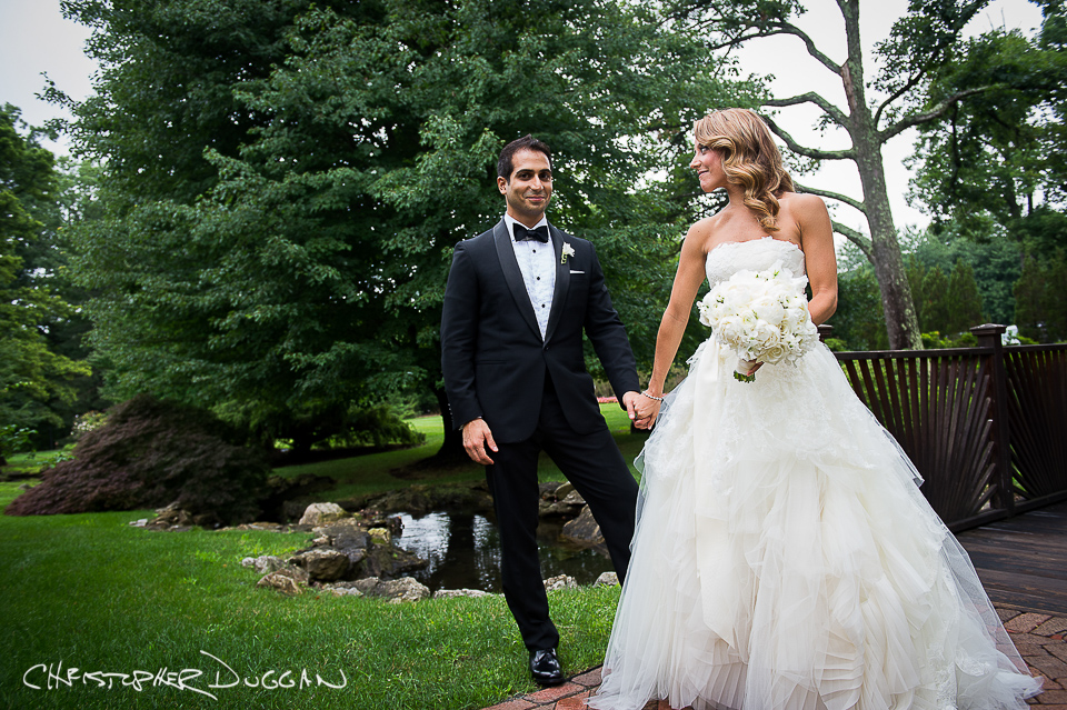 Jessica & Azal's West Orange NJ Pleasantdale Chateau Wedding Photos by Christopher Duggan