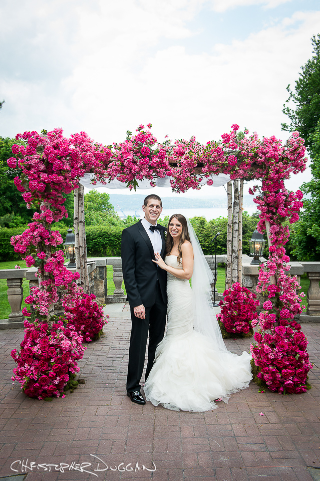 Jill & Michael's Tappan Hill Mansion wedding photos by Christopher Duggan