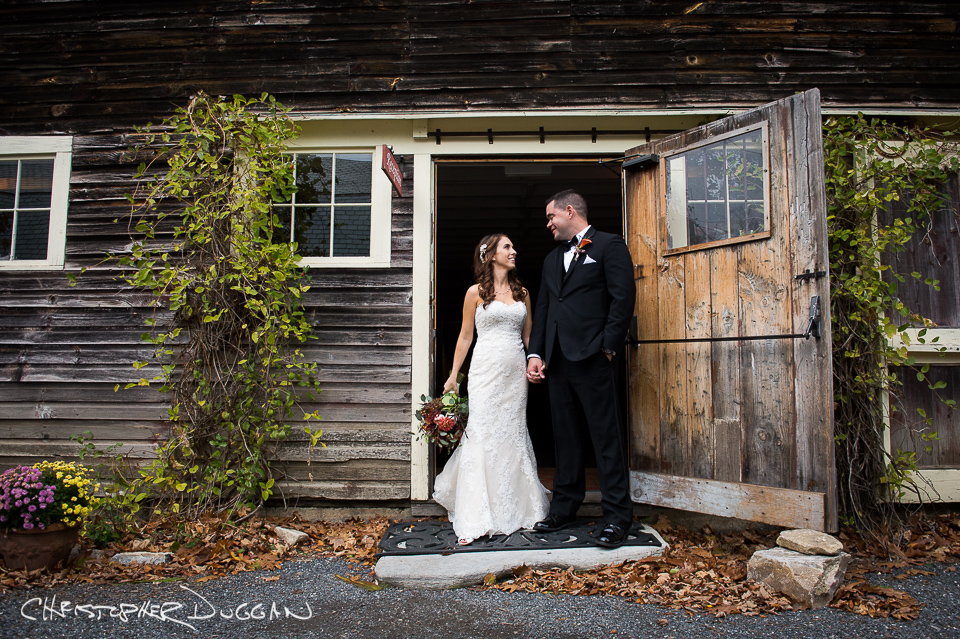 Meghan & Kevin's Gedney Farm Wedding. Photo Credit: Christopher Duggan