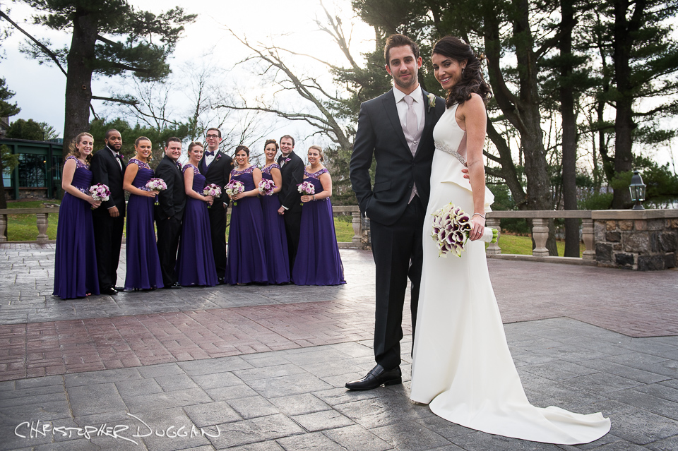 Tappan Hill Wedding Photos - Janna & Charlie. Photo Credit: Christopher Duggan