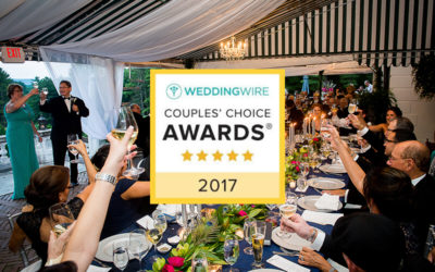 We Won the WeddingWire Couples' Choice Award Again for 2017