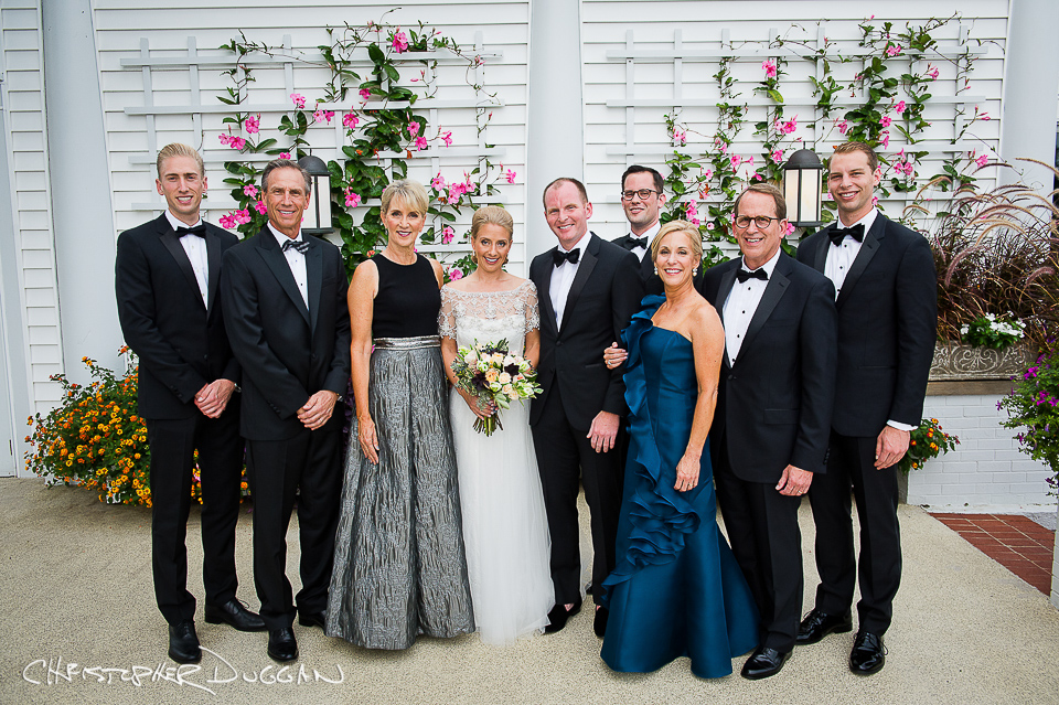 Formal Family Portraits On Your Wedding Day. Photo Credit: Christopher Duggan