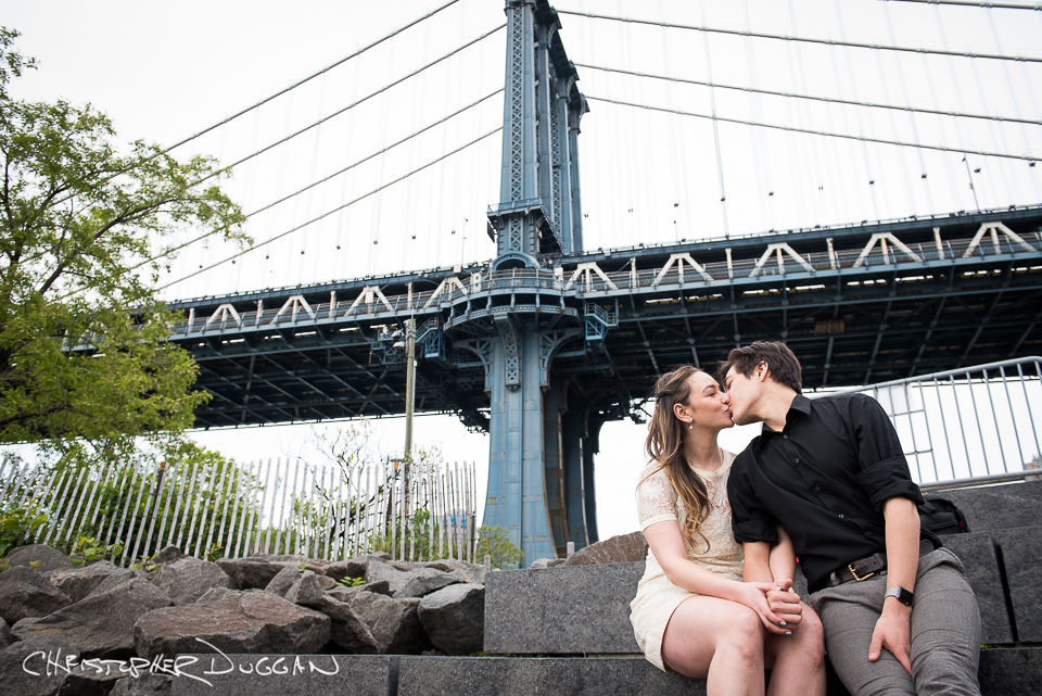 Rebecca & Jacob | Brooklyn Bridge Park Engagement Photos