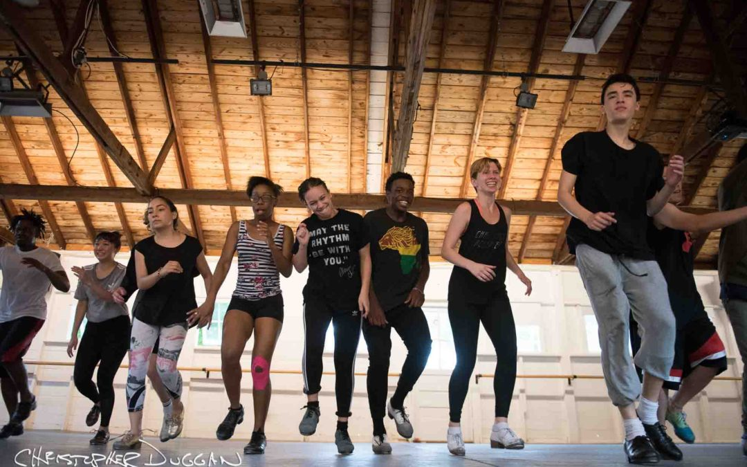 Jacob's Pillow Dance Festival 2017 | Tap Students
