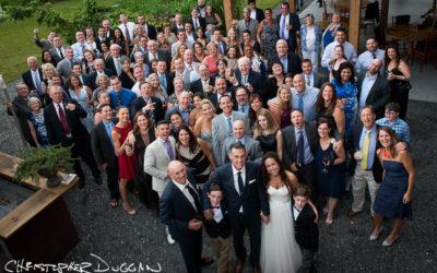 Melissa & Mike | Berkshire Barn Wedding Photos by Christopher Duggan