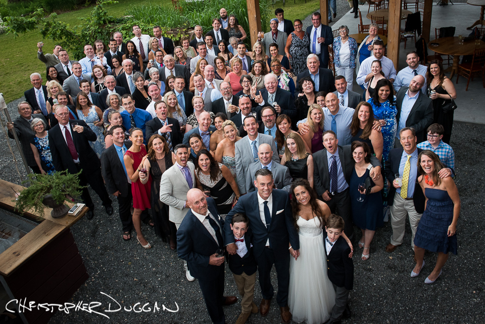 Melissa & Mike's Berkshire barn wedding by Christopher Duggan Photography