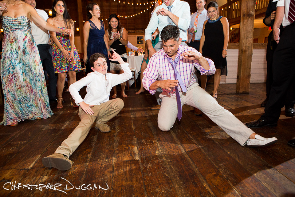 Melissa & Mike's Berkshire barn wedding by Christopher Duggan Photography