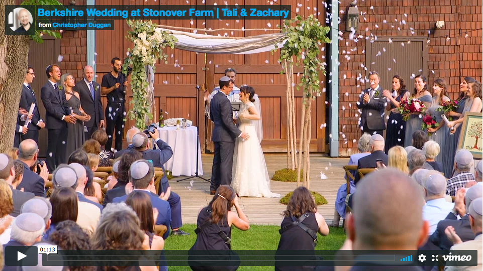 Tali & Zachary | Stonover Farm Berkshire Wedding Film
