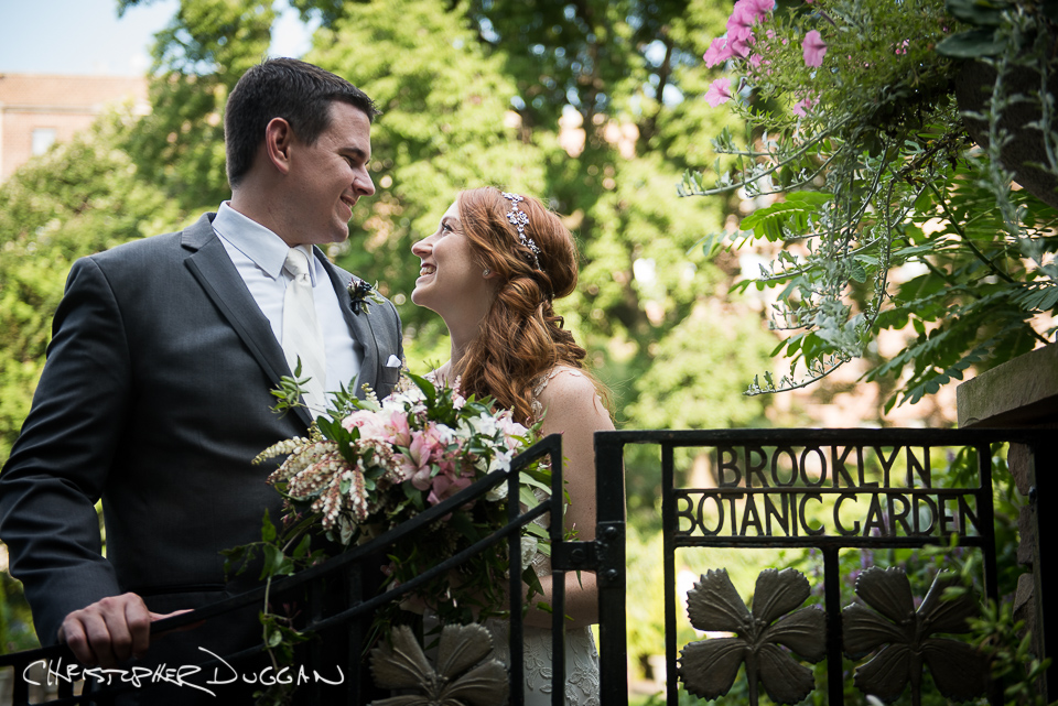 Michele & Tyler | Brooklyn Botanic Garden Wedding